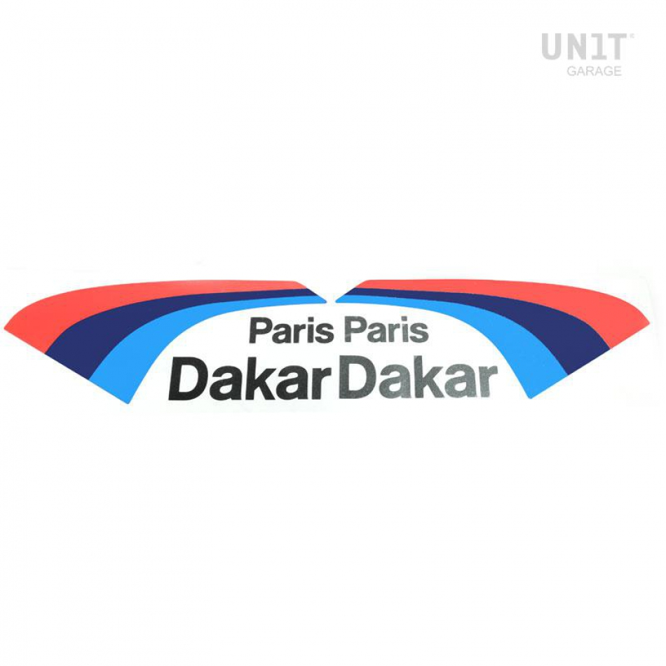 Pegatinas PARIS DAKAR para el deporte del motor