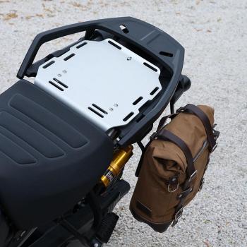 Lona de maletero lateral + Subchasis izquierdo Pan America 1250