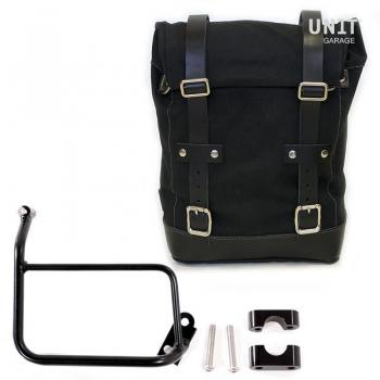 Bolsa lateral de lona + marco R1200 GS