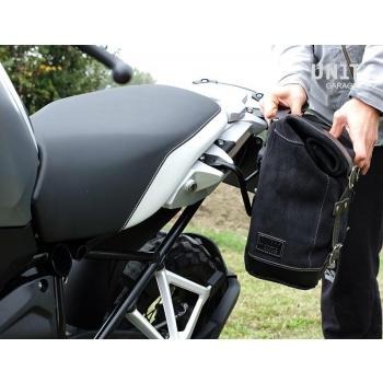 Bolsa lateral de lona + marco R1200 GS LC