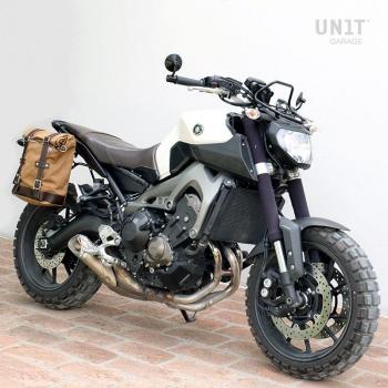 Bolsa lateral de lona + chasis Yamaha DX