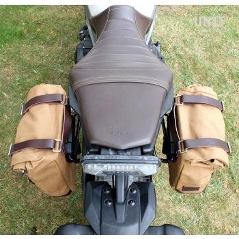 Bolsa lateral de lona + marco Yamaha SX