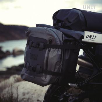 Bolsa lateral de lona + marco de la serie NineT