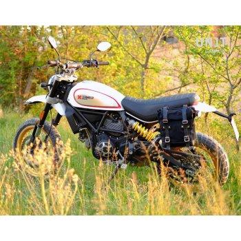 Bolsa lateral + marco Ducati Desert Sled