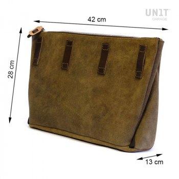 Fezzan Messenger bag cuero dividido