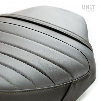 Funda de silla en cuero marrón (silla doble)