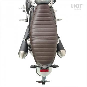 Funda de asiento de cuero (asiento largo)