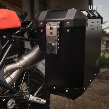 Par de bolsas Atlas en Aluminio 40L + 34L con bastidores nineT