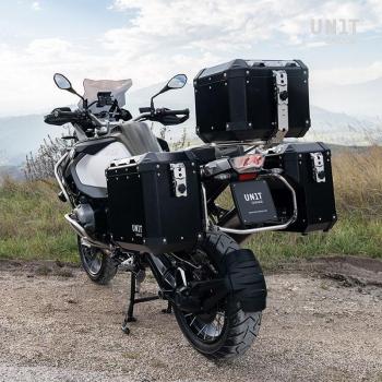 Par de bolsas de aluminio Atlas 40L + 34L con bastidores R1200GS LC - R1250GS y ADV