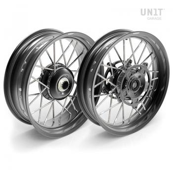 Par de ruedas radiales NineT Scrambler 24M9