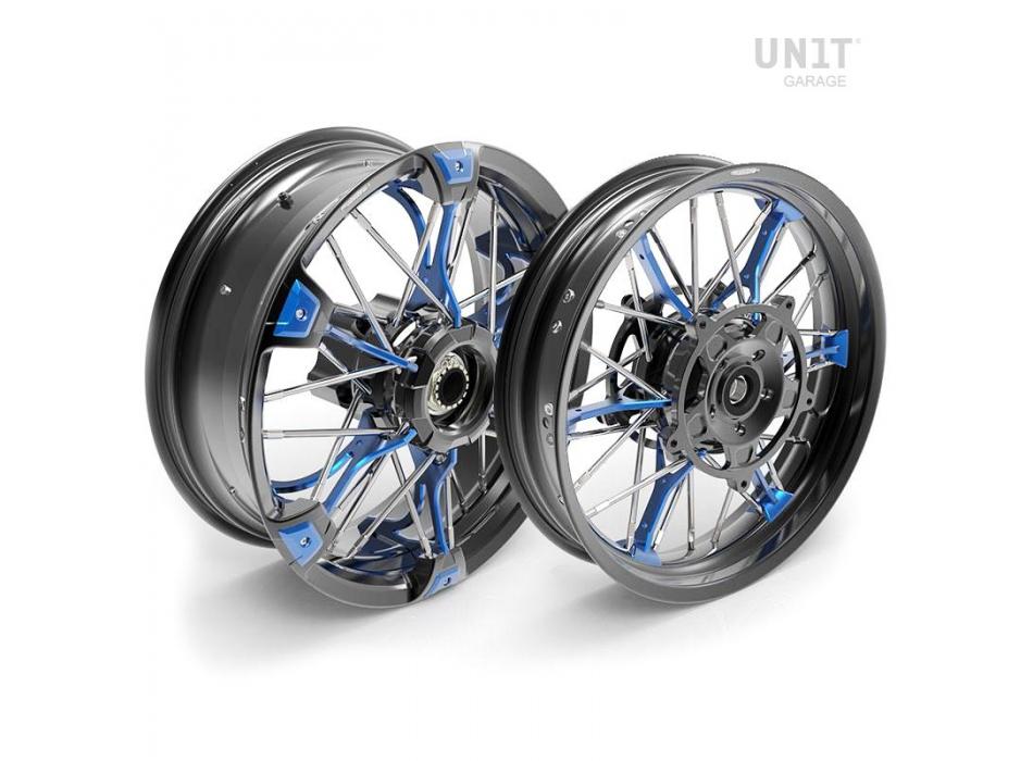 Par de ruedas radiales NineT Scrambler 24M9 SX-Spider tubeless