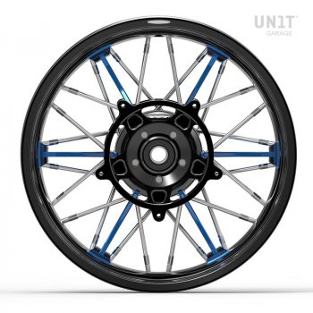 Par de ruedas radiales NineT UrbanGS 24M9 SX-Spider Tubeless