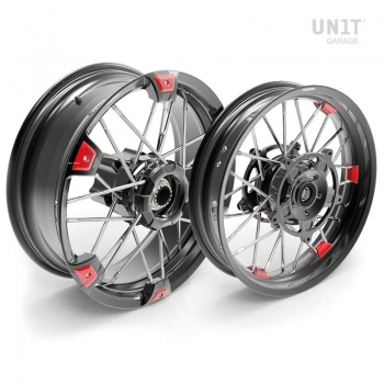 Par de ruedas radiales NineT UrbanGS 24M9 SX Tubeless