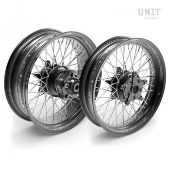 Par de ruedas de radios Ducati Cafe Racer 800 48M6