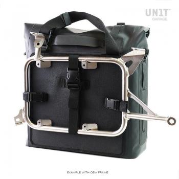 Dos bolsas laterales Khali en TPU 35L - 45L con marcos nineT