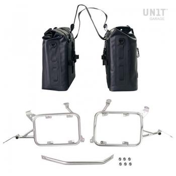 Dos bolsas laterales Khali en TPU 35L - 45L con marcos R1200GS LC - R1250GS & ADV