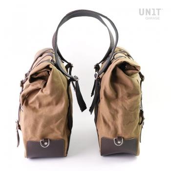 Dos bolsas laterales universales