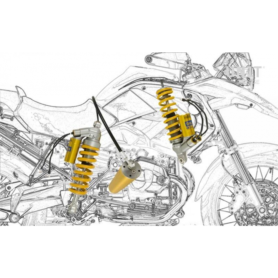 KIT RACKS BMW R 1200 GS ADV SISTEMA MECHATRONIC OHLINS