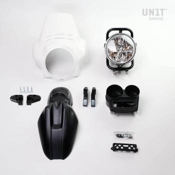 Kit de faros PRO FENOUIL (negro mate) R850R-R1100R