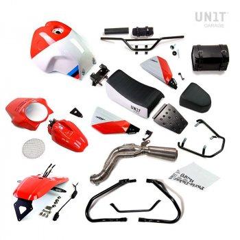 Kit NineT PARIS DAKAR GR86 con accesorios