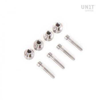 Kit de repuesto tornillos y adaptadores bolsas marco nineT