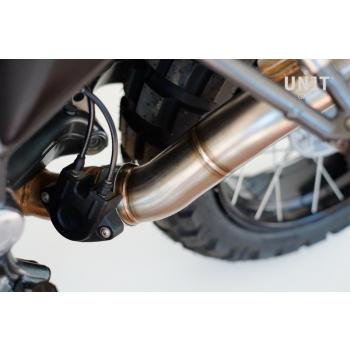 Silenciador de titanio estilo GP '10 -'12