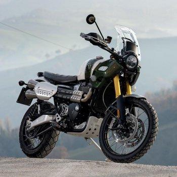 Silenciador Triumph 1200XC y XE con colector sin catalizador de acero inoxidable