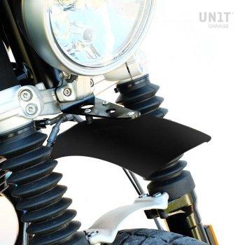 Guardabarros alto de aluminio negro nineT