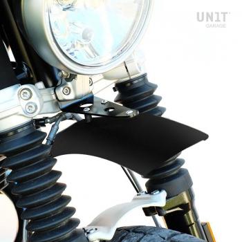 Guardabarros alto de aluminio nineT Urban GS Black