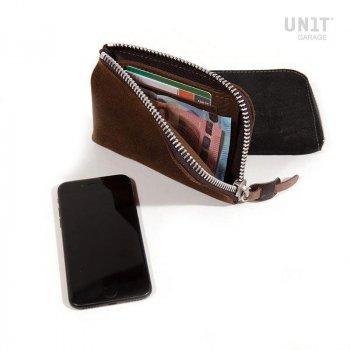 Soporte para teléfono y billetera