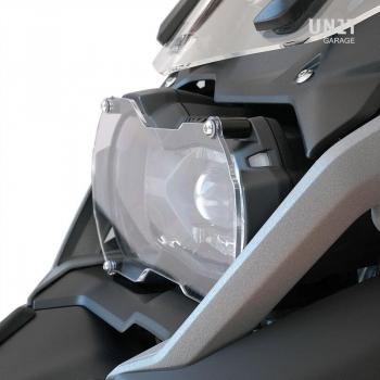 Protección de luz delantera transparente