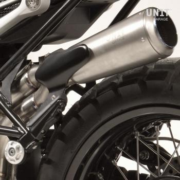 Protección del silenciador de carbono