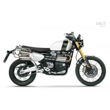 Triumph 1200 XC y XE cuadros para bolsas de aluminio