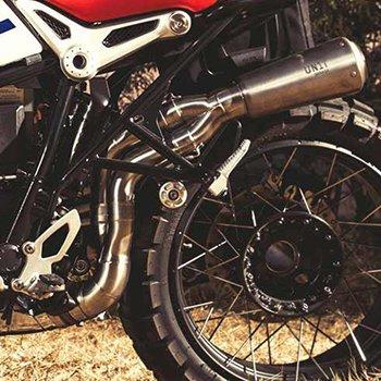 kit Paris Dakar for BMW R-Nine-T with High exhaust in Titanium