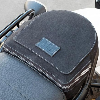 Passenger bag & seat For Unitgarage Kit Fuoriluogo for Ducati Scrambler 400/800